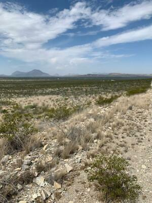 5 AC West Texas Land, off Chispa Road, Jeff Davis Co CASH Sale, no reserve