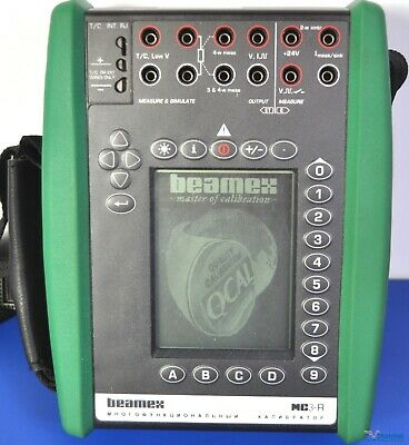 Beamex MC3-R Multifunction Process Calibrator - NIST Calibrated with Fluke Leads