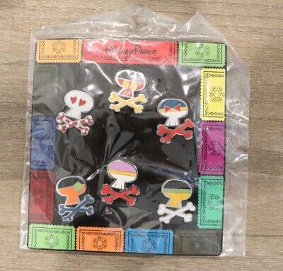 Disney Trading Pins Sugar Skulls and Crossbones Character Pins  FREE SHIPPING