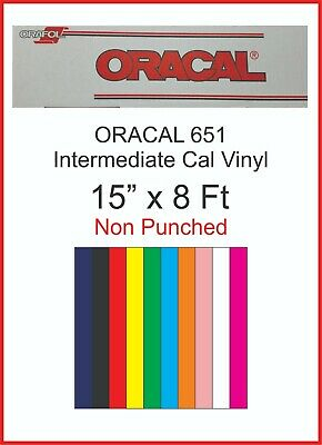 """Oracal 651 1 Roll 24/"""" x 30 ft by precision62 Black #070 Vinyl for Craft,Sign"""