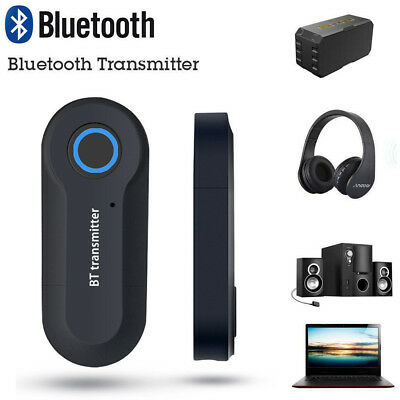 Bluetooth Transmitter Stereo Music Wireless Audio Adapter For TV Phone AU@