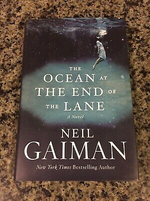 Ocean At The End Of The Lane-SIGNED Neil Gaiman-First Ed/1st Printing Hardcover