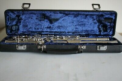 Arbiter Pro Sound Flute In a Plush Lined Case Just serviced
