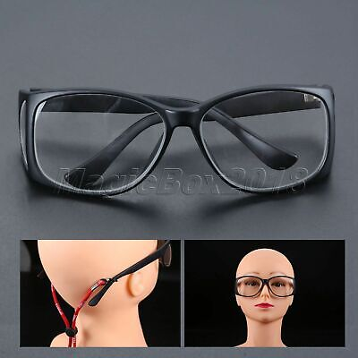 1 Pair X-Ray Protective Lead Glasses 0.5mmpb Spectacles Side Protection with Box