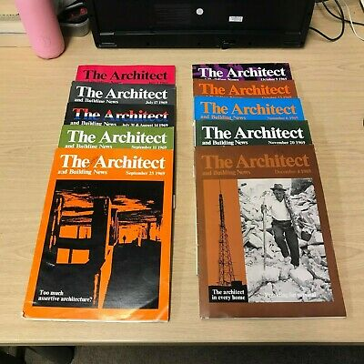 The Architect and Building News: Weekly Magazine: 10 Issues: July-Dec 1969