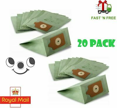 20 Pack For Numatic Henry Hoover Vacuum Cleaner Double Layer Paper Dust Bags