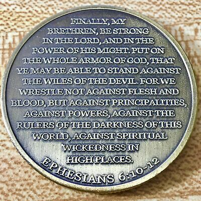 Put On The Whole Armor Of God Challenge Coin - US SELLER