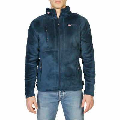 Felpa Geographical Norway Upload_man Uomo Blu