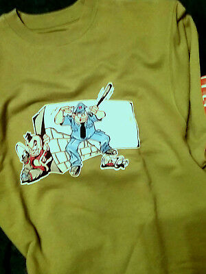 Bad + Mad, Shirt, 010, Comic, Boys, 128-176, 90-er Years, Dimensions, Vintage