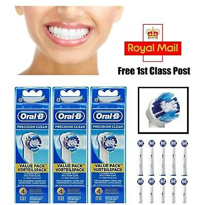Genuine Oral-B PRECISION CLEAN Electric Toothbrush Replacement Brush Heads