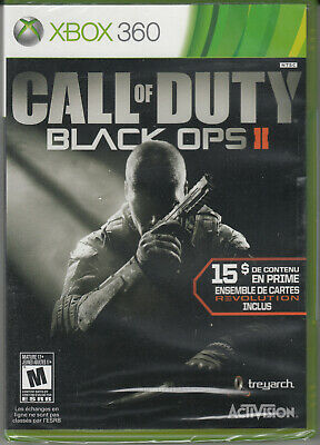 Call of duty Black Ops 2 Xbox 360 FRENCH ONLY!!! Brand New Factory Sealed