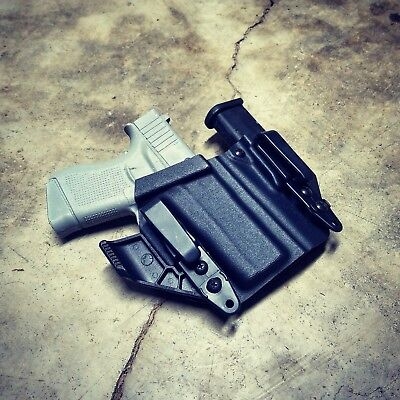 "Glock 43X Fits - ""ARSENAL"" Appendix IWB Kydex Concealed Carry Holster"