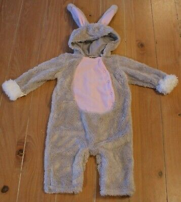 New Pottery Barn Kids BABY BUNNY Rabbit Costume Toddler Infant 12-18 Months