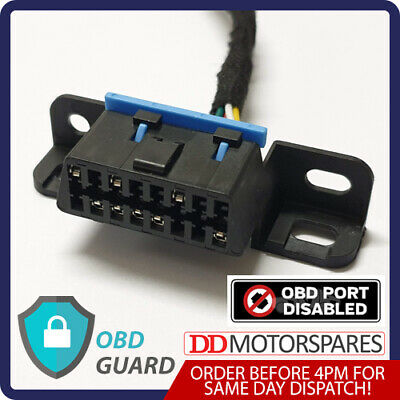 Ford Transit & Connect Obd Guard Dummy Port Security Block Lock Anti Theft