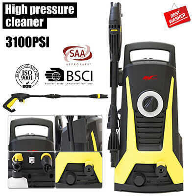 BY 3100PSI High Pressure Washer Cleaner Electric Water Gurney Pump Hose AU Stock