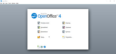 Open Office 2019 Software Suite for Windows Version 4.1.7 (Newest)