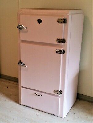 ICEBOX SAFE - CHILERATOR 1950's - Sunshine Cabinet Works Pty Ltd - RECONDITIONED