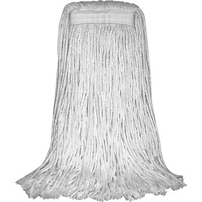 Performance Plus #24 Cotton Cut-End Wet Mop Heads (P09005)-White 1 Pack
