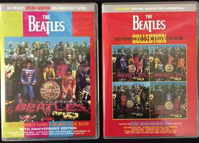 The Beatles Sgt. Peppers 4Cd+3Dvd Set 50Th Anniversary & Collection Press New