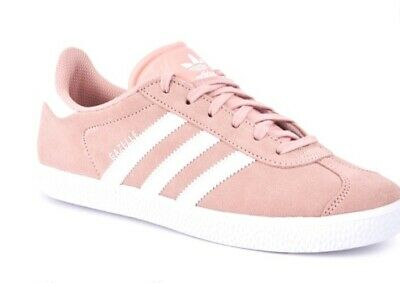 Adidas Originals Gazelle Trainers Girls/Kids Pink Size (Uk 3)