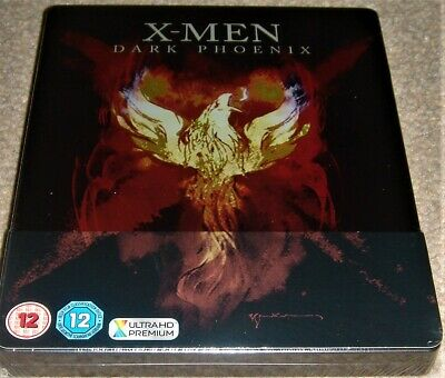 X-Men Dark Phoenix Steelbook 4K Ultra HD+Blu ray / HDR 10+ / WORLDWIDE SHIPPING