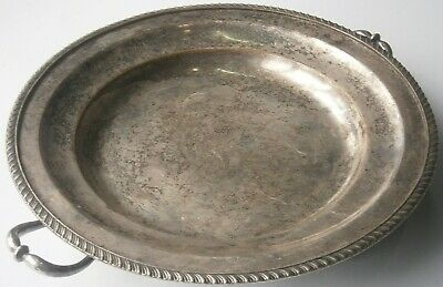 ENGLAND Heated tray for hot water Sheffield Plate SILVER Plated ALPHA Crown RARE
