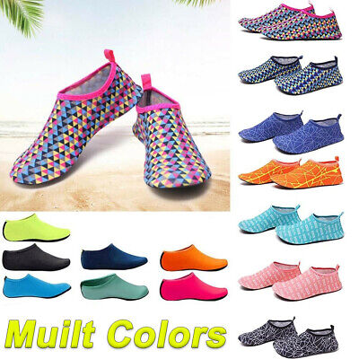 Men Womens Diving Surf Socks Wetsuit Water Aqua Shoes Non Slip Swim Beach Shoes@