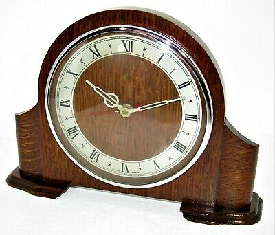 Very Nice 1930's/40's English Electric Mantle Clock, Possibly Smiths?