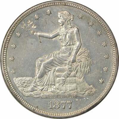 1877-S Trade Silver Dollar BU++PL Uncertified