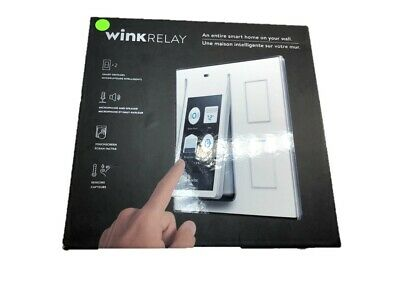 Wink Relay - Smart Home Wall Controller Touchscreen White