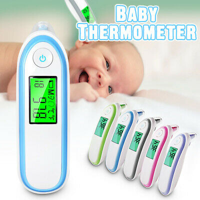 Digital IR Infrared Body Forehead Thermometer Baby Adult Fever Temperature