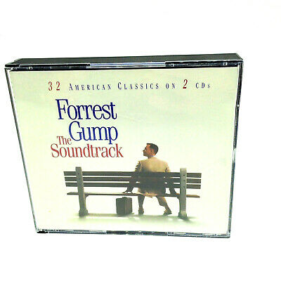 Forrest Gump The Soundtrack Double 2 CD Album 32 American Classics 1994