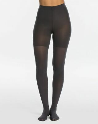 NEW SPANX Luxe Leg High Waist Tights Size B Charcoal Color