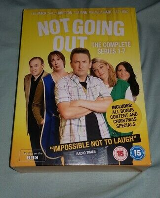 Not Going Out Season 1-7 DVD