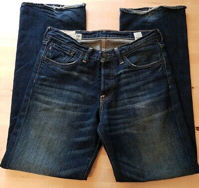 Womens Abercrombie and Fitch Kilburn Low Rise Bootcut Jeans 1892. 32W  32L