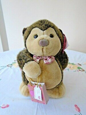 Lovely Plush Simply Soft Collection Valentine Hedgehog By Keel Toys With Tags