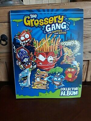 THE GROSSERY GANG - COLLECTOR ALBUM - CARDS 1 to 52