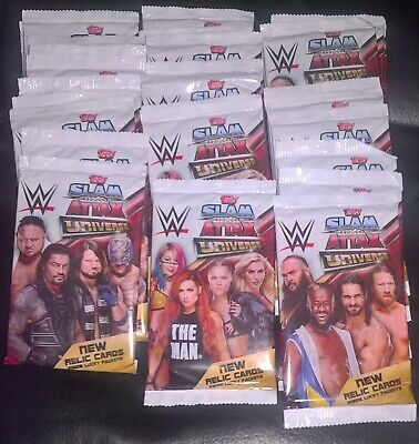 Topps - WWE Slam Attax Universe Trading Cards - 30 Packets (7 In Each Pack)
