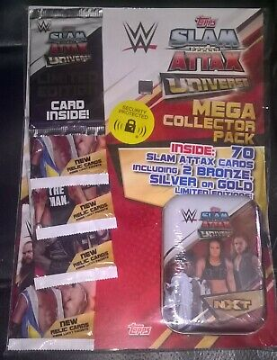 Topps - WWE Slam Attax Universe Trading Cards - MEGA COLLECTORS PACK II