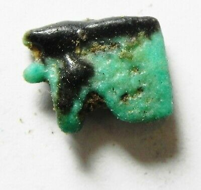 ZURQIEH -as14435- ANCIENT EGYPT,  FAIENCE EYE OF HORUS AMULET. 600 - 300 B.C