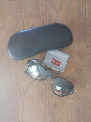 Ray Ban Sonnenbrille CATS 5000 RB 4125 710/51 2N braun