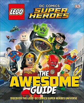 LEGO DC Comics Super Heroes The Awesome Guide & Wonder Woman Exclusive Minifig