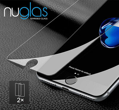 NUGLAS Screen Protector Tempered Glass  for iPhone 8 7 6 6s Plus X Xs Max Xr