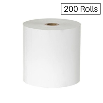 200 80x80mm Thermal Receipt Cash Register Roll-$240 Free Shipping!