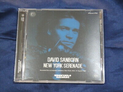 Kiss Moonchild Records 1 Cd David Sanborn New York Serenade Rock Music