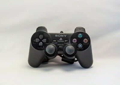 Sony PlayStation 2 PS2 DualShock 2 Controller Official Genuine OEM CLEANED *VG+