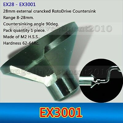 1Pcs Deburring System External Countersinks Blades EX3001 Fits NOGA products
