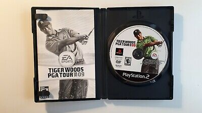 Tiger Woods PGA Tour 09 - cib - PS2 PlayStation 2 Sony COMPLETE