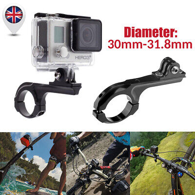 Aluminum Bike Handlebar Bar Standard Mount Adapter For GoPro HD Hero Camera NEW