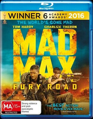 Mad Max - Fury Road, Blu-ray